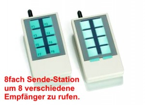 8-fach-Sendestation-Apronti-Call